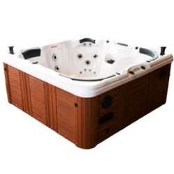 Utomhusspa Four Winds Spas Maui Valnöt